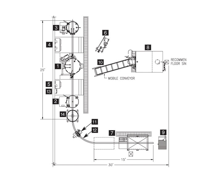 cleveland range product Chiller Refrigeration Cycle Diagram