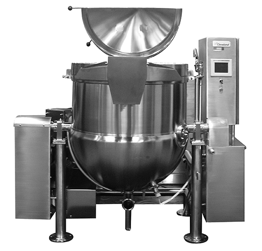 HA Tilting Direct Steam Mixer Kettle with ''RL'' Touch Screen Controls